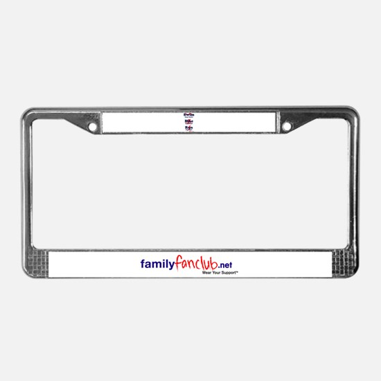 Triathlon Daddy License Plate Frame
