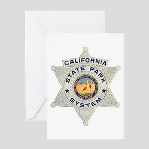 Calif State Ranger Greeting Card
