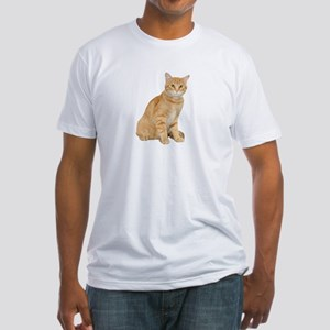 Yellow Cat Fitted T-Shirt