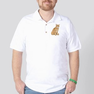 Yellow Cat Golf Shirt