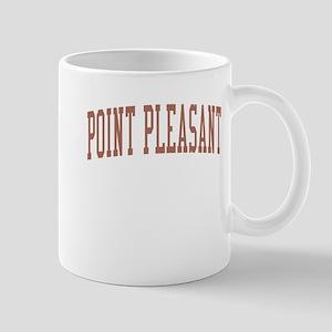 Point Pleasant New Jersey NJ Red Mug