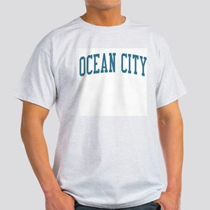 Ocean City New Jersey NJ Blue Light T-Shirt