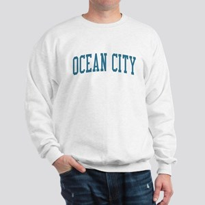 Ocean City New Jersey NJ Blue Sweatshirt