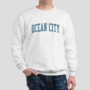 Ocean City New Jersey NJ Blue Sweatshirt