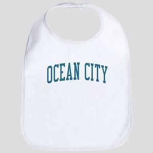 Ocean City New Jersey NJ Blue Bib
