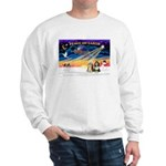 XmasSunrise/2 Beardies Sweatshirt