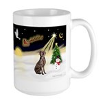 Night Flight/Weimaraner Large Mug