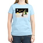 Night Flight/Weimaraner Women's Light T-Shirt
