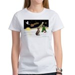 Night Flight/Weimaraner Women's T-Shirt