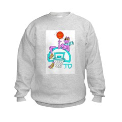 SABRA DOG(Basketball)Jewish Sweatshirt