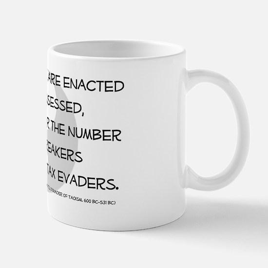 Funny Tax phrases Mug