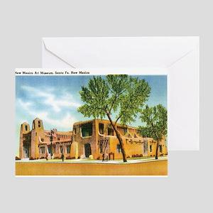 Santa Fe New Mexico NM Greeting Card