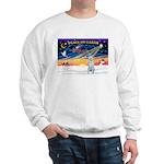 XmasSunrise/Irish Wolf #4 Sweatshirt