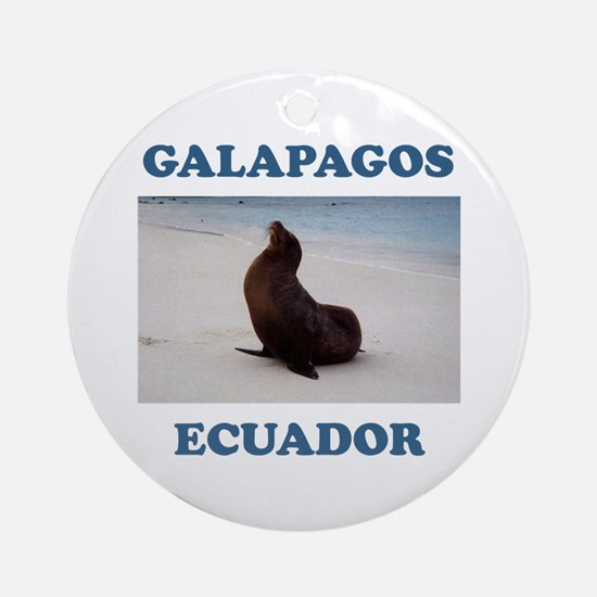 GALAPAGOS SEA LION Ornament (Round)