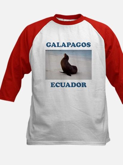 GALAPAGOS SEA LION Kids Baseball Jersey