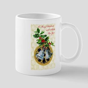 Bells and Holly Mug