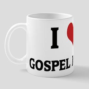 I Love Gospel Music Mug