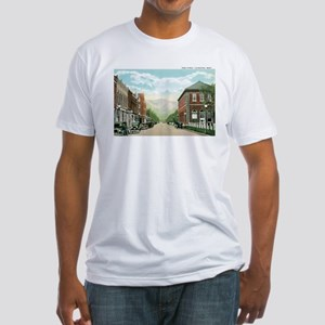 Livingston Montana MT Fitted T-Shirt