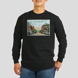 Livingston Montana MT Long Sleeve Dark T-Shirt