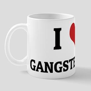 I Love Gangster Rap Mug