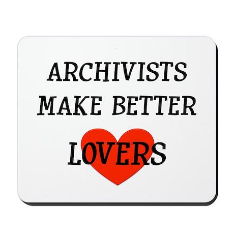 Archivist Gift Mousepad