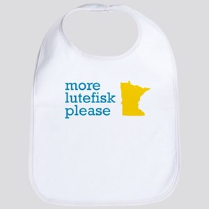 More Lutefisk Please Bib