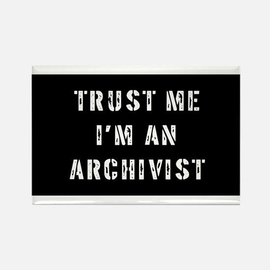 Archivist Gift Rectangle Magnet (100 pack)