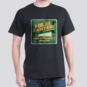 Niles Canyon CA Dark T-Shirt