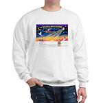 XmasSunrise/Yorkie 17 Sweatshirt