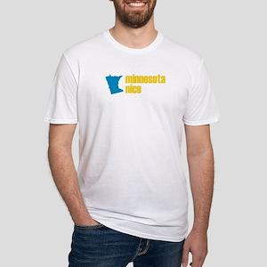 Minnesota Nice Fitted T-Shirt