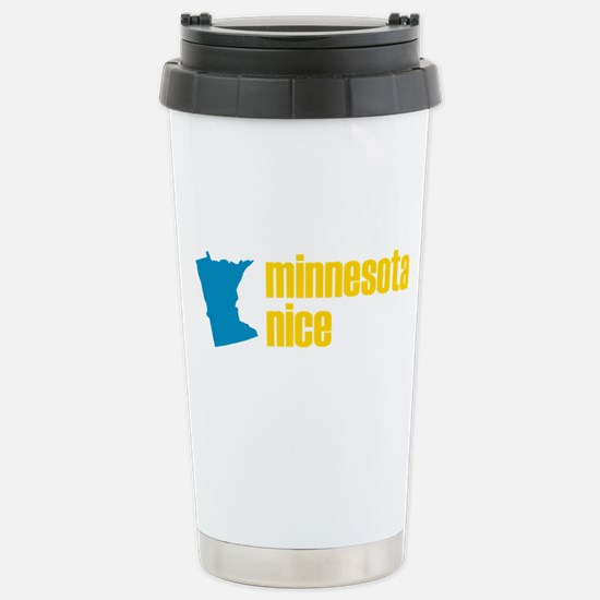 Minnesota Nice Stainless Steel Travel Mug