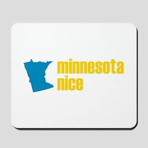 Minnesota Nice Mousepad