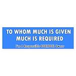 Responsible Boerboel Owner (Bumper)