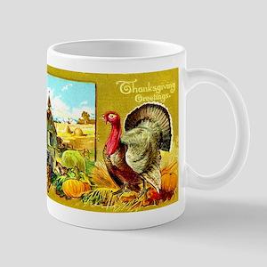 Thanksgiving Americana Mug