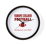 Ramapo Football Wall Clock