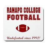 Ramapo Football Mousepad