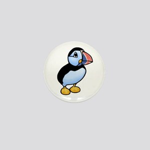 Puffin Mini Button