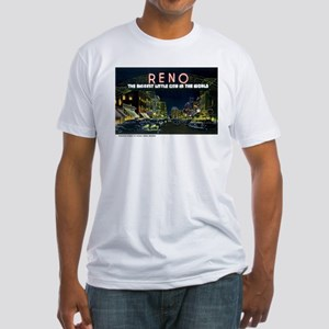 Reno Nevada NV Fitted T-Shirt