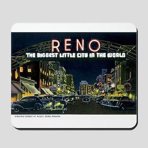 Reno Nevada NV Mousepad