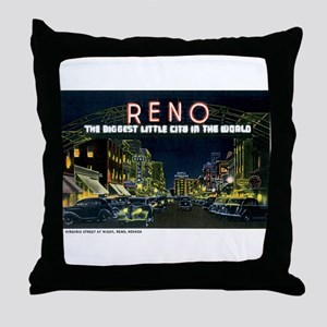 Reno Nevada NV Throw Pillow