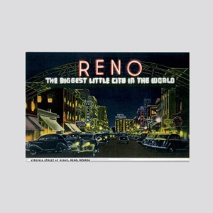 Reno Nevada NV Rectangle Magnet