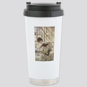 Read a Book Stainless Steel Travel Mug