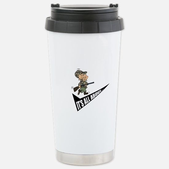 IAAW Stainless Steel Travel Mug