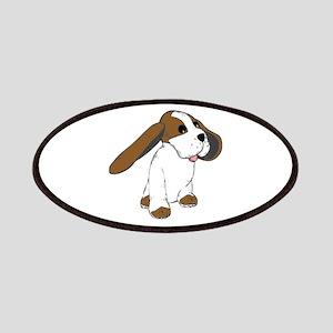 Big Eared Basset Dog Patch