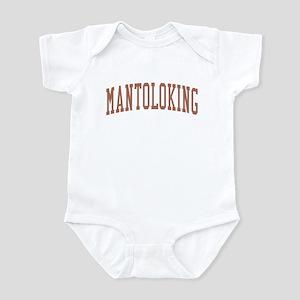 Mantoloking New Jersey NJ Red Infant Bodysuit