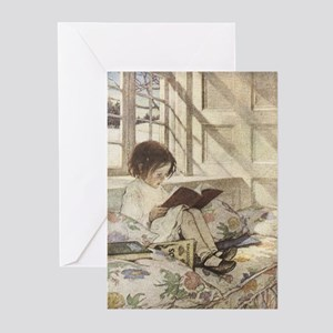 Read a Book Greeting Cards (Pk of 10)