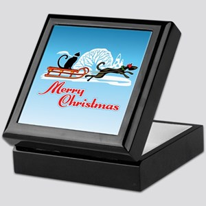 Christmas Pet Parade Keepsake Box