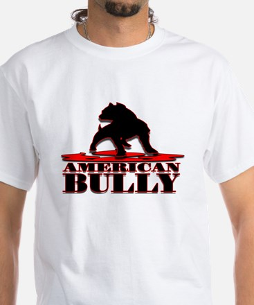 American Bully White T-Shirt