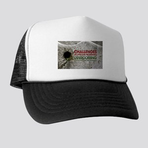 Inspirational Quote on a Trucker Hat