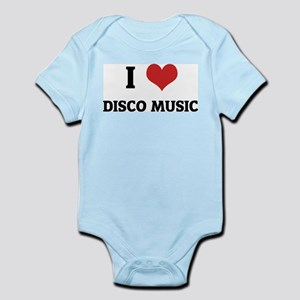 I Love Disco Music Infant Creeper